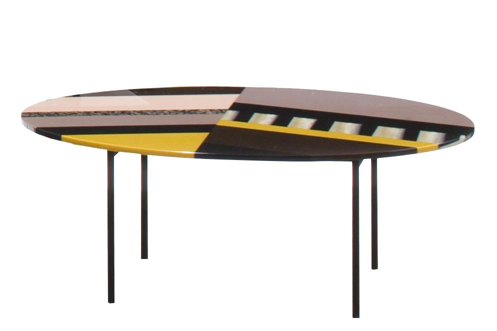 54 x 34 x 50, Stardust, Version 1,Moroso,Coffee & Side Tables,coffee table,furniture,table,yellow