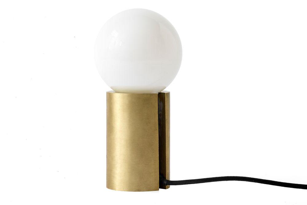 Brushed Brass,MENU,Table Lamps,lamp,light,light fixture,lighting