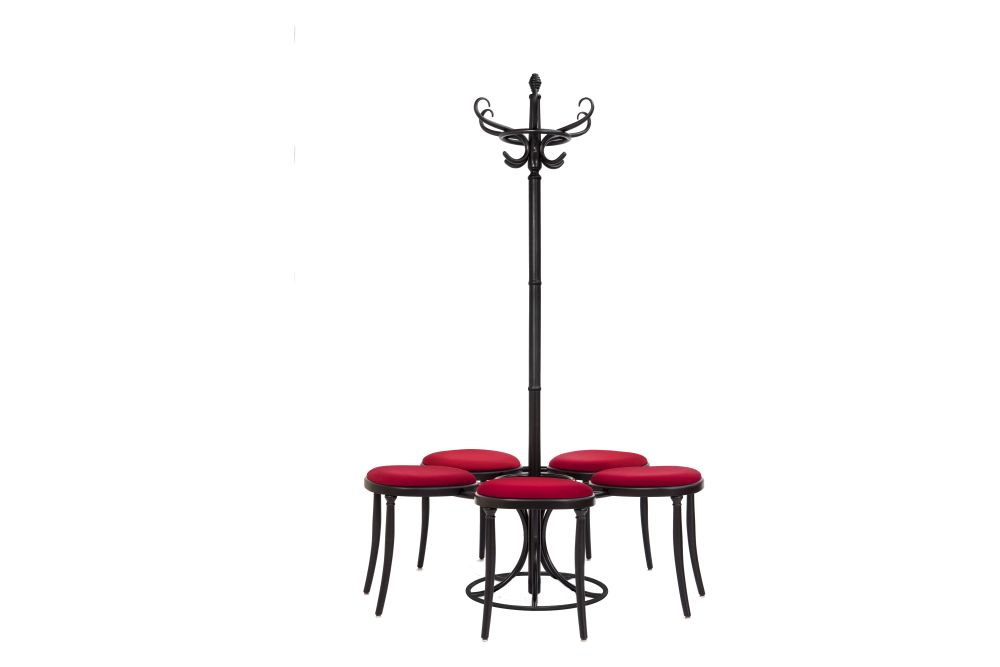 Price Group A, RAL 9005 BLACK,Wiener GTV Design,Stools