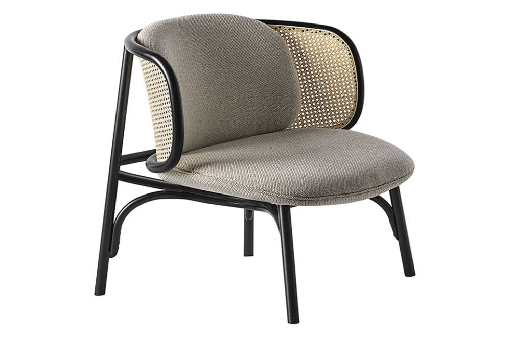 Price Group E, RAL 9005 BLACK,Wiener GTV Design,Lounge Chairs