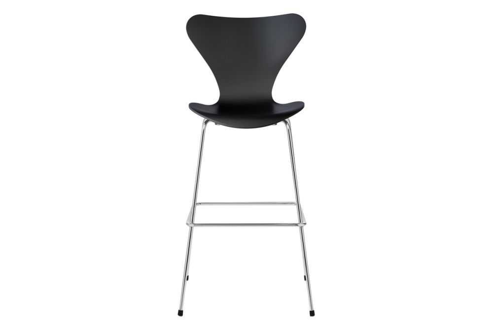 Coloured Ash White 105,Fritz Hansen,Workplace Stools,chair,furniture
