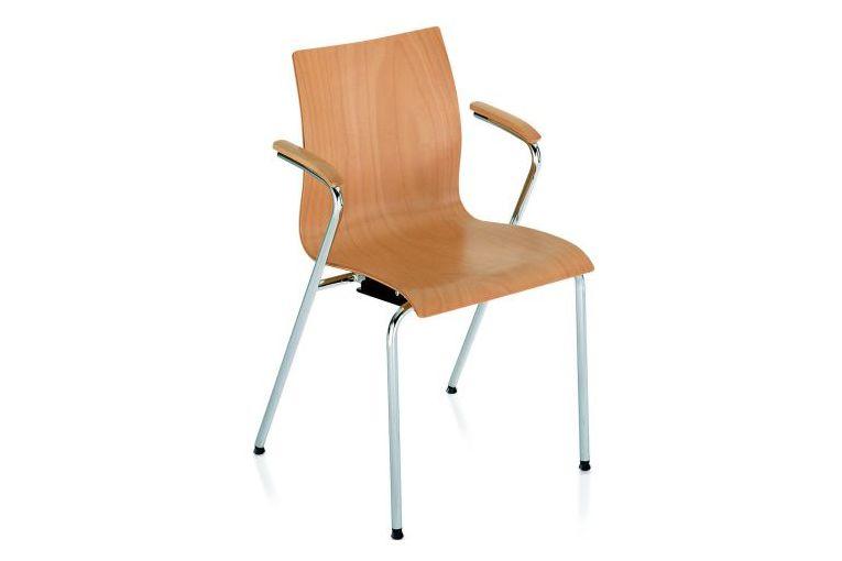 B01 Beech,Wiener GTV Design,Armchairs