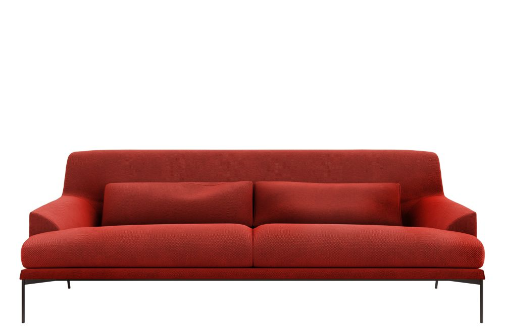 Category B, T02 White RAL 9016, 78h x 162w x 90d,Tacchini,Sofas