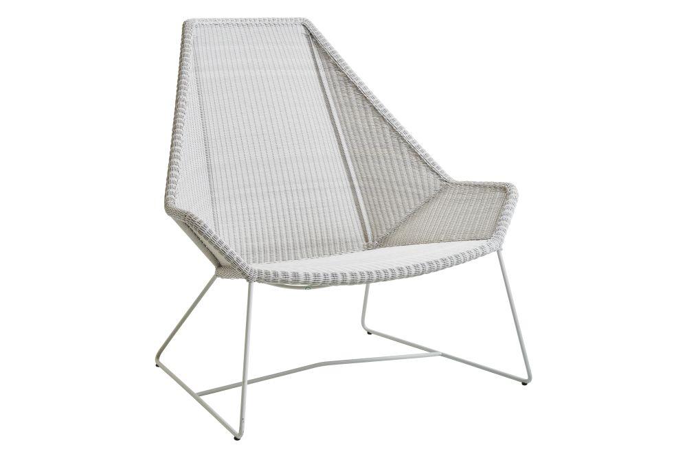 LI Light grey,Cane Line,Lounge Chairs