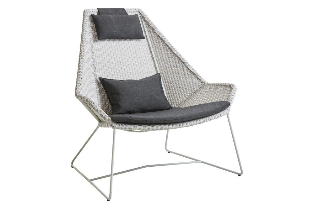Y177 Blue, LI Light grey,Cane Line,Lounge Chairs