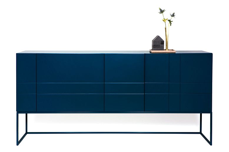 Lacquered MDF Char Grey, Doors and Drawers,Asplund,Cabinets & Sideboards