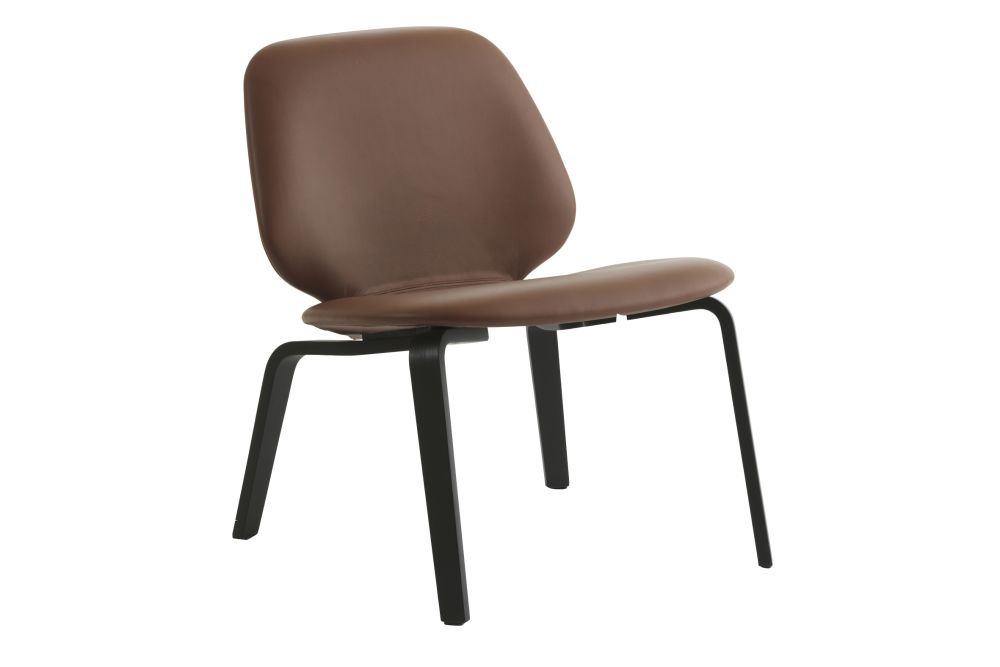 Lacquered Birch, Main Line Flax,Normann Copenhagen,Lounge Chairs