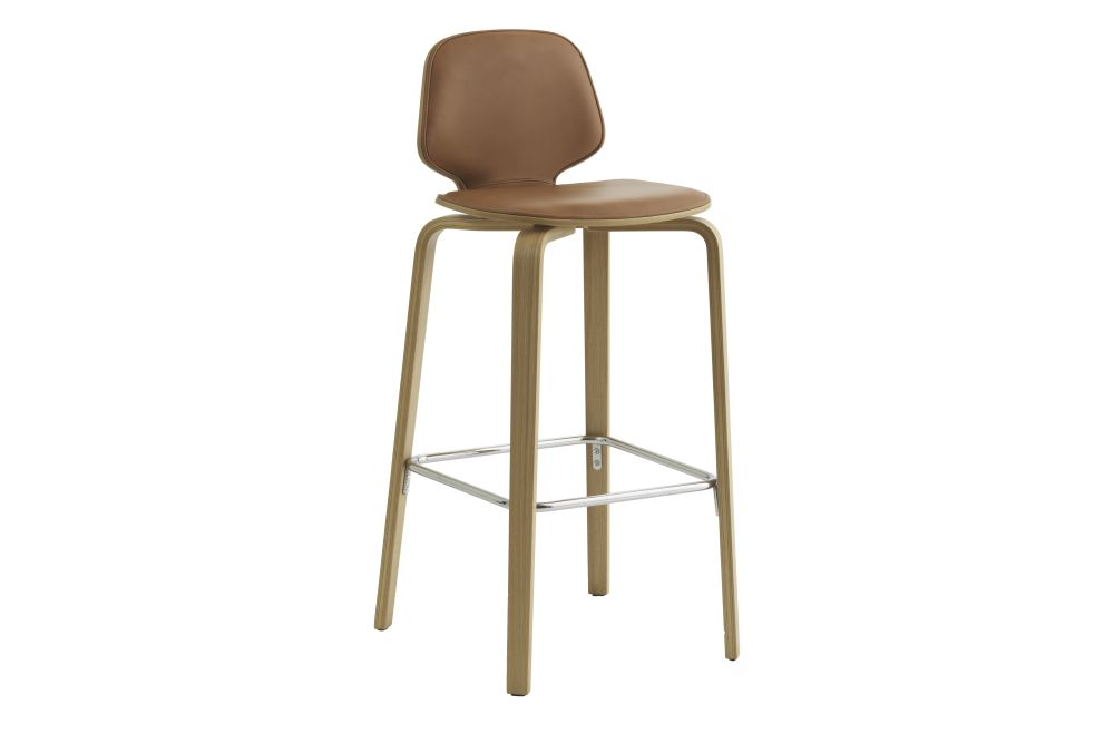 Lacquered Birch, Main Line Flax, 65,Normann Copenhagen,Workplace Stools