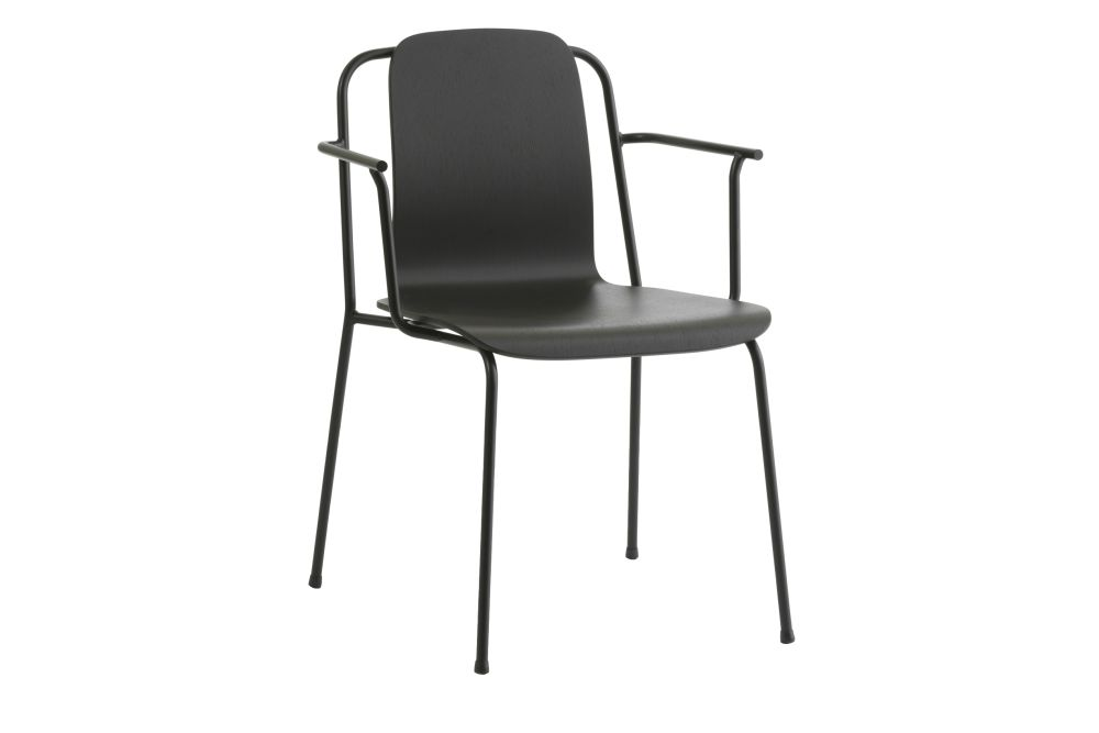 Black Painted Oak,Normann Copenhagen,Dining Chairs