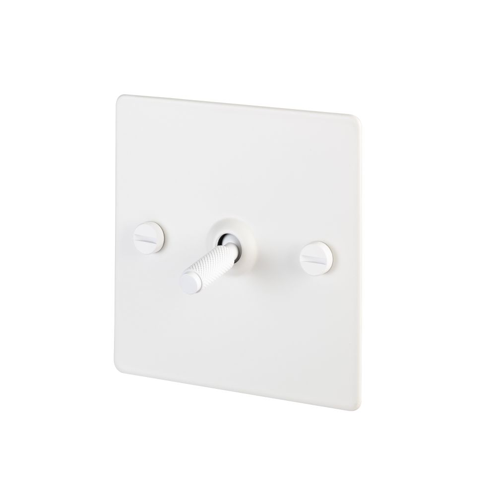 1G Toggle Switch / White,Buster + Punch,Lighting
