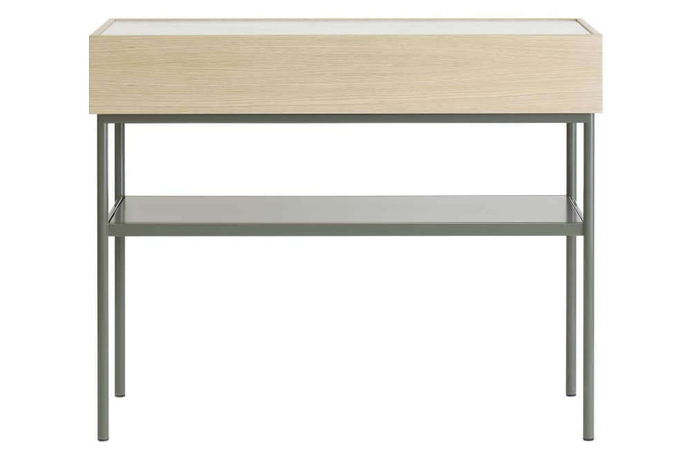 Carrara Marble, Lacquered Oak Taupe, Lacquered Oak Char Grey,Asplund,Cabinets & Sideboards