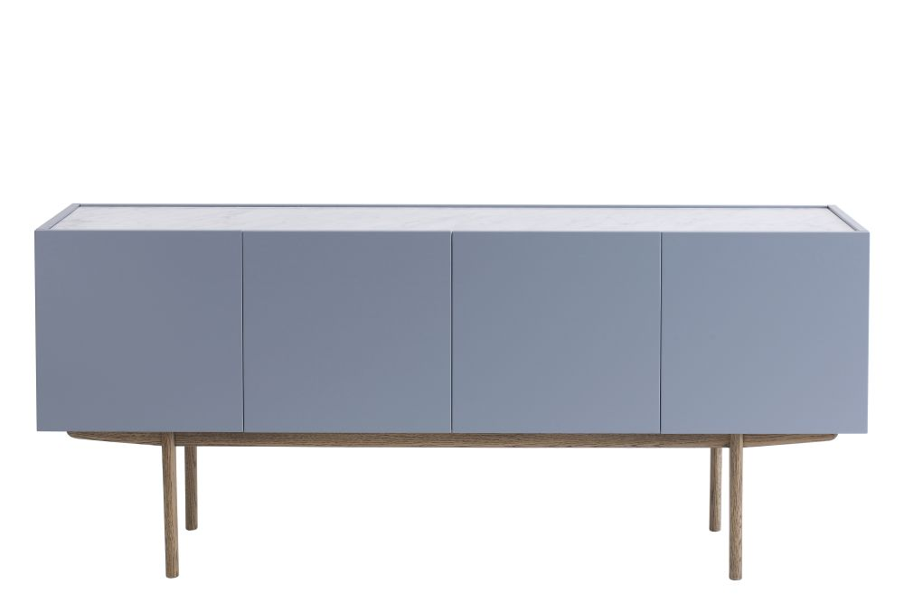 Belgian Limestone, Lacquered Oak Char Grey, Stained Oak Black Walnut, Drawers,Asplund,Cabinets & Sideboards