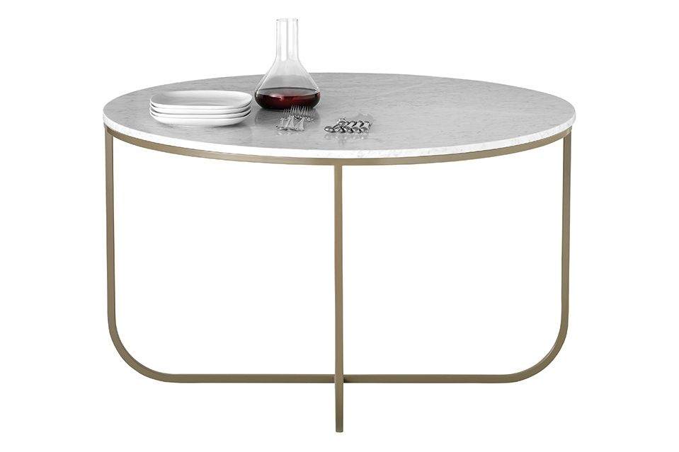 Belgian Limestone, Powder Coated Bronze,Asplund,Dining Tables