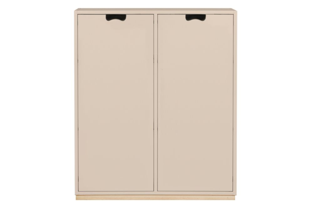 Lacquered MDF Char Grey, 190h x 90w x 42d,Asplund,Cabinets & Sideboards
