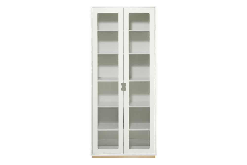 Lacquered MDF Char Grey, 210h x 90w x 30d,Asplund,Cabinets & Sideboards