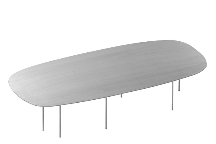 Brushed Stainless,Asplund,Dining Tables