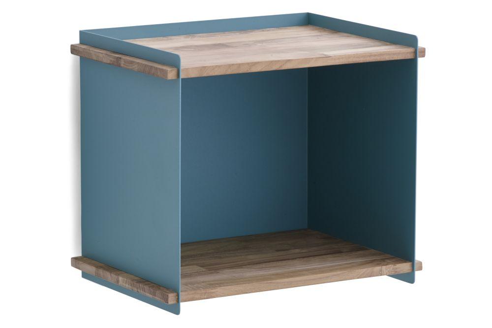 AL Aluminium Lava Grey,Cane Line,Bookcases & Shelves