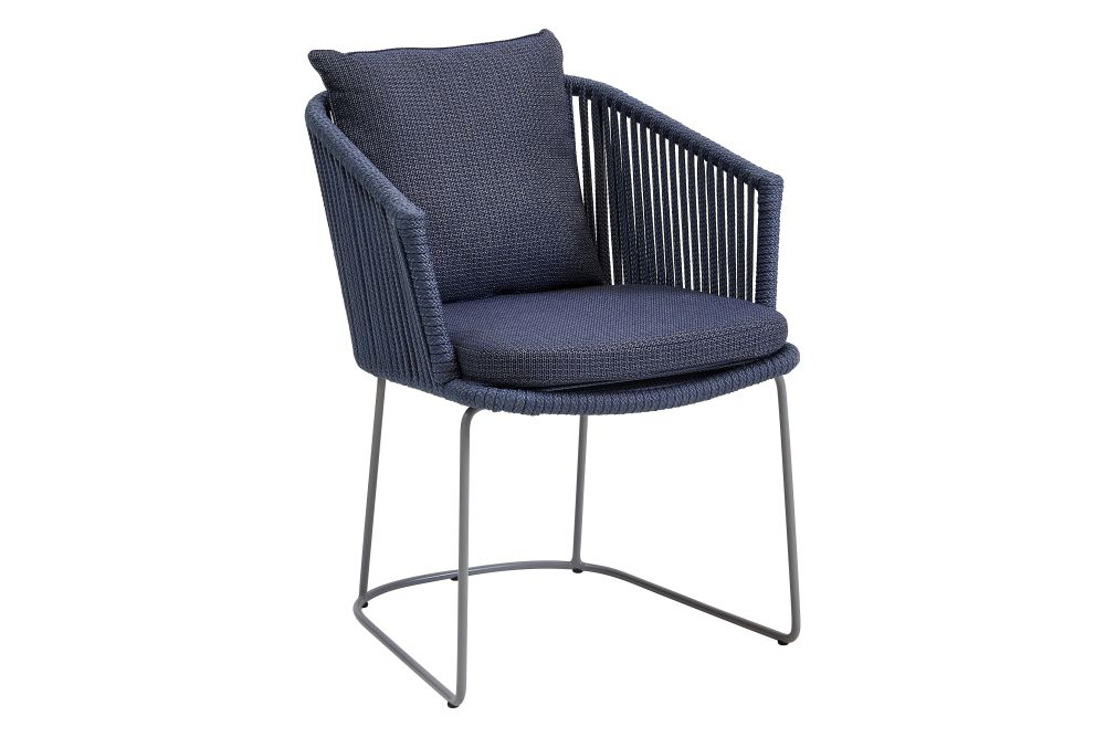 YN107 Blue, ROB Blue Soft Rope,Cane Line,Armchairs