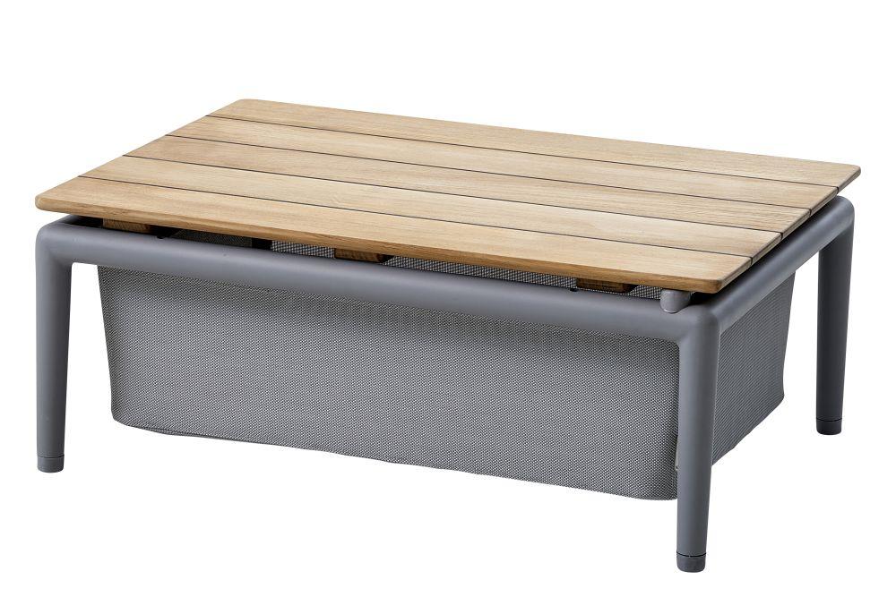 AI Aluminium Light Grey,Cane Line,Coffee & Side Tables