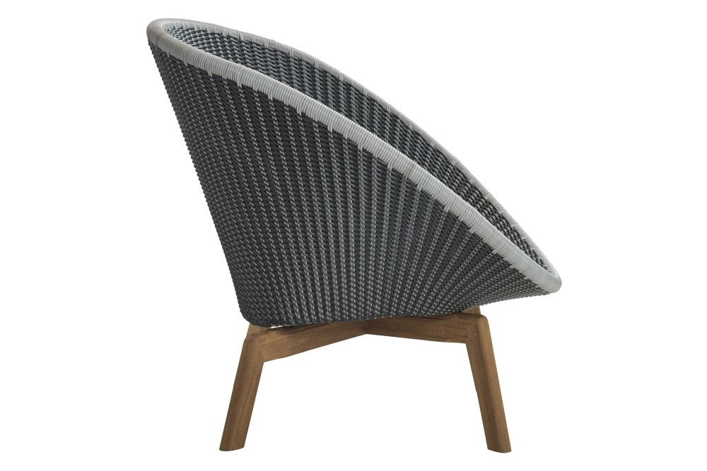 BCT Midnight / Dusty Blue,Cane Line,Lounge Chairs