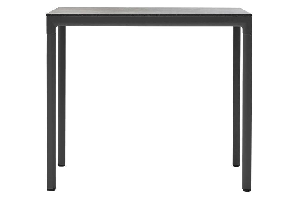 AI Aluminium Light Grey, Ceramic Fossil Black,Cane Line,High Tables