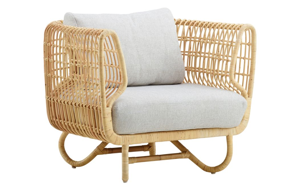 Y124 Off-white,Cane Line,Lounge Chairs