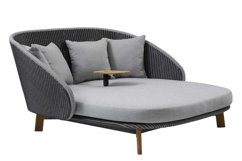 YSN96 Light grey,Cane Line,Lounge Chairs