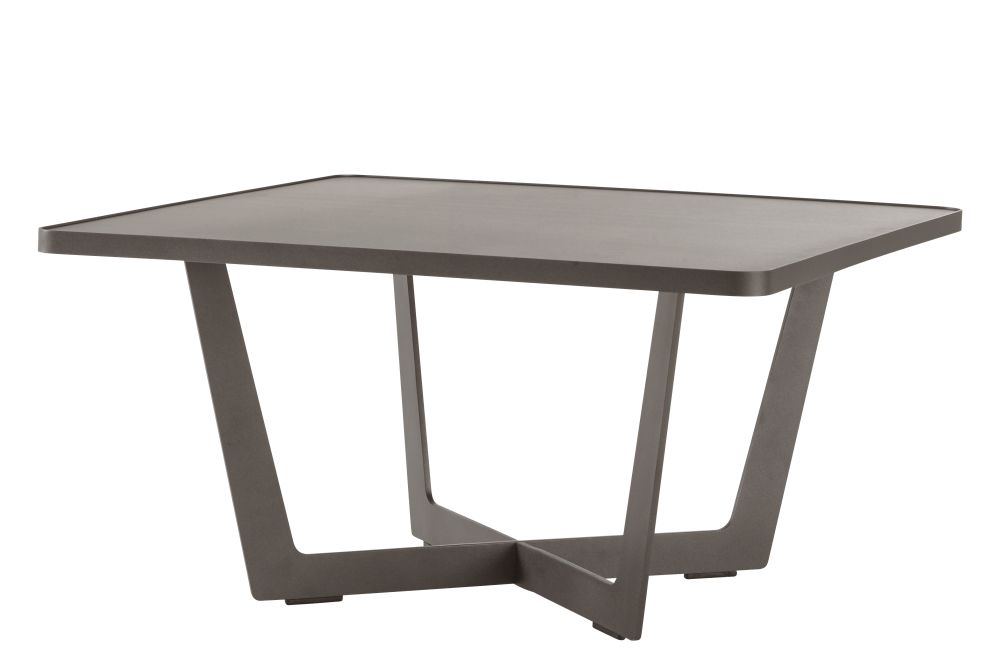 71w x 71d x 35h cm, AL Aluminium Lava Grey,Cane Line,Coffee & Side Tables