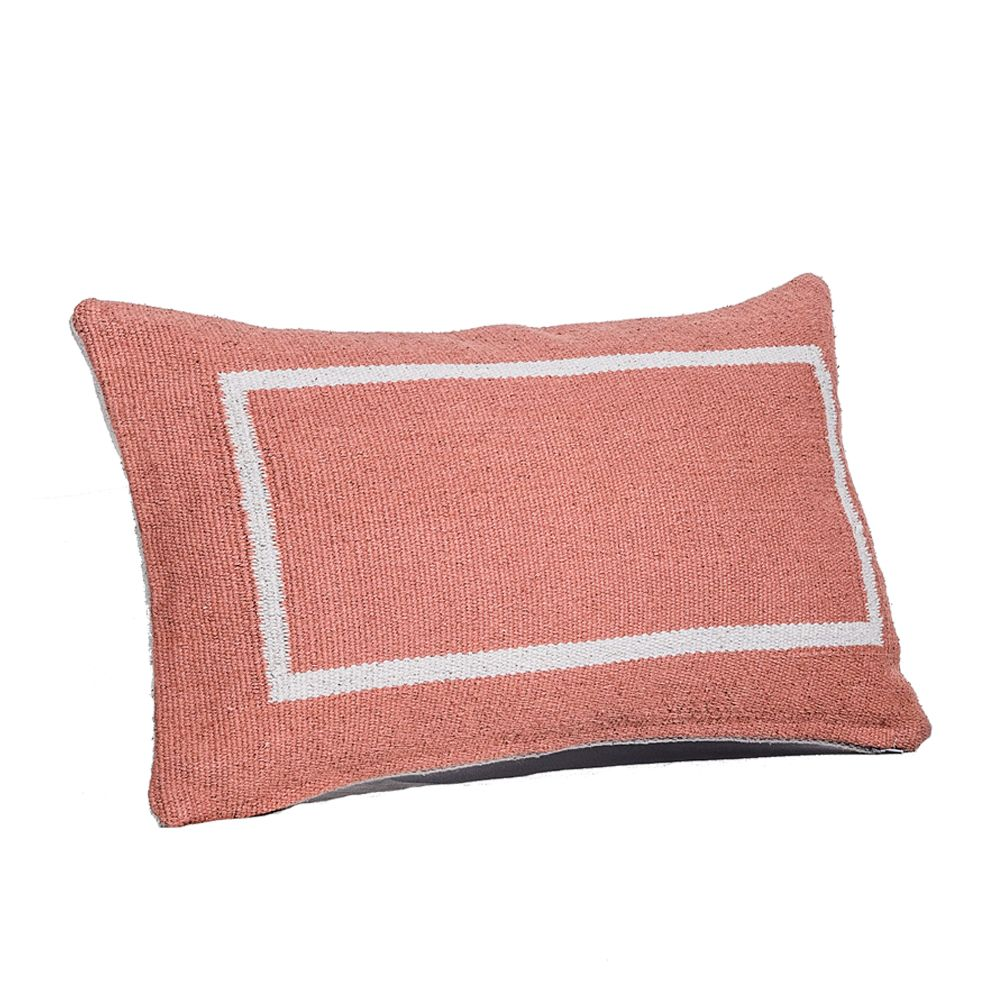 Jamakhan Square, Terracotta, Rectangle,Tiipoi,Cushions,bedding,cushion,furniture,linens,orange,pillow,pink,room,textile,throw pillow