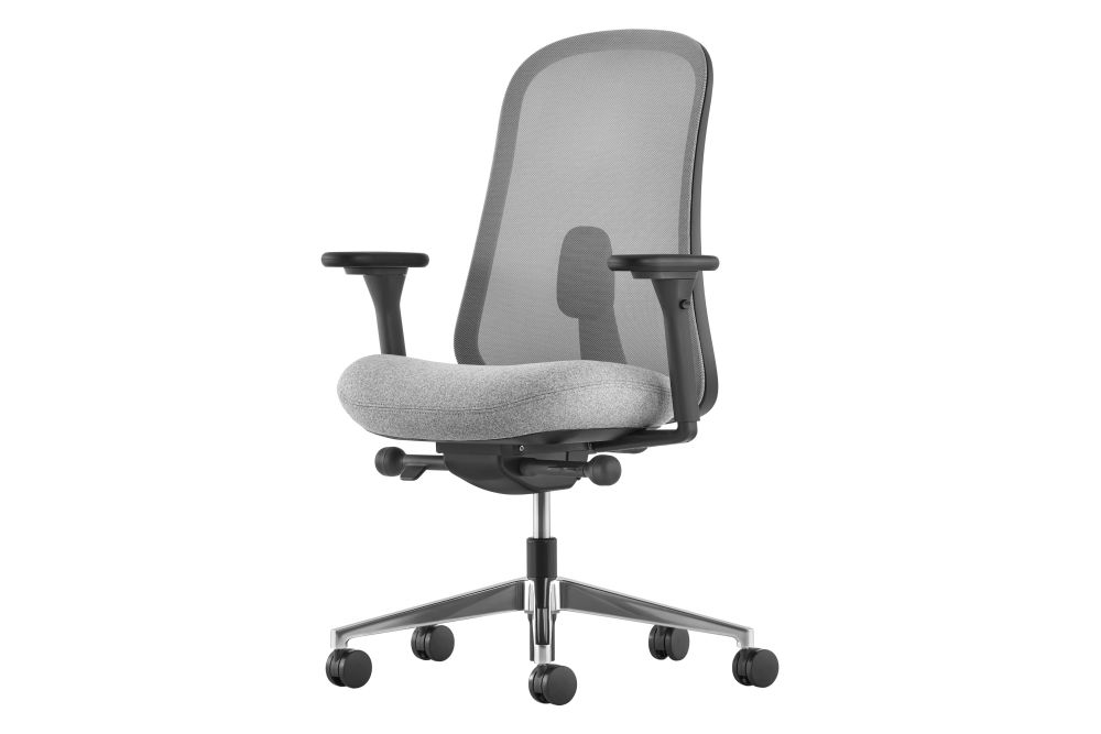 Graphite 4RM06, Plastic Black, Metal Black, Price Band 1,Herman Miller,Task Chairs