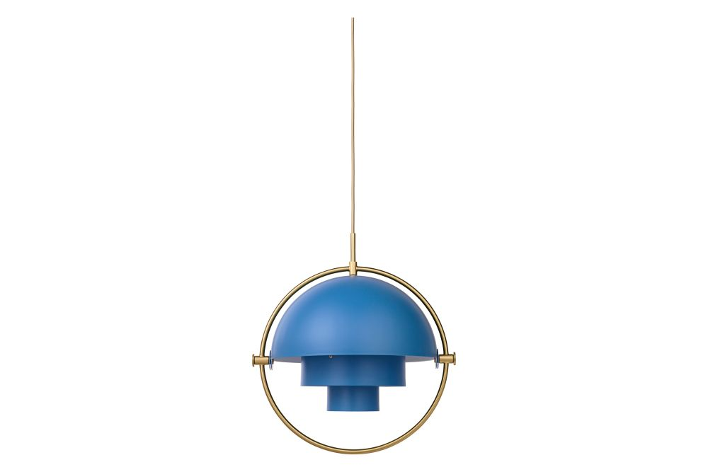Shiny Brass / Brass,GUBI,Pendant Lights