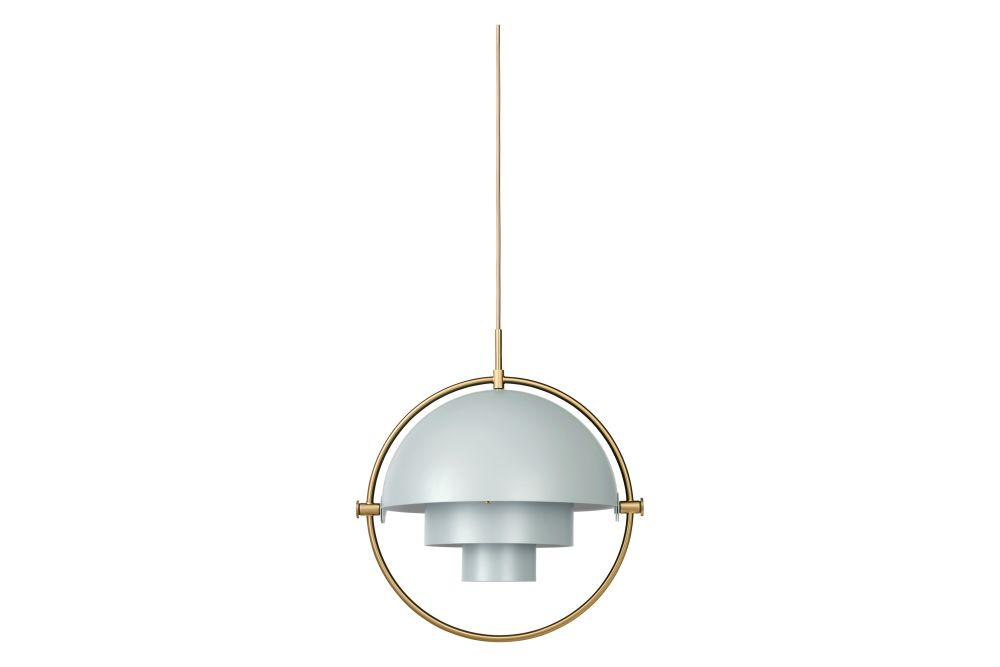 Shiny Brass / Brass,GUBI,Pendant Lights