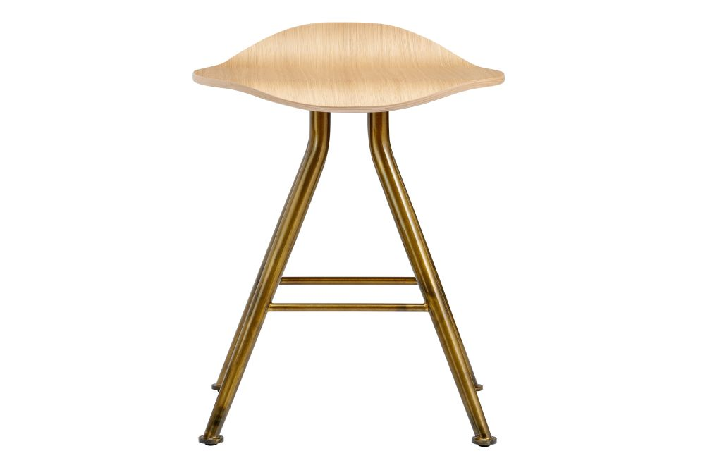 Metal Black Base, Oak Natural Seat,NORR11,Stools
