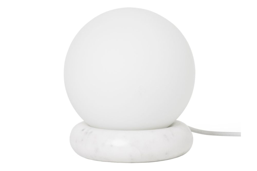 White Marble,ferm LIVING,Table Lamps