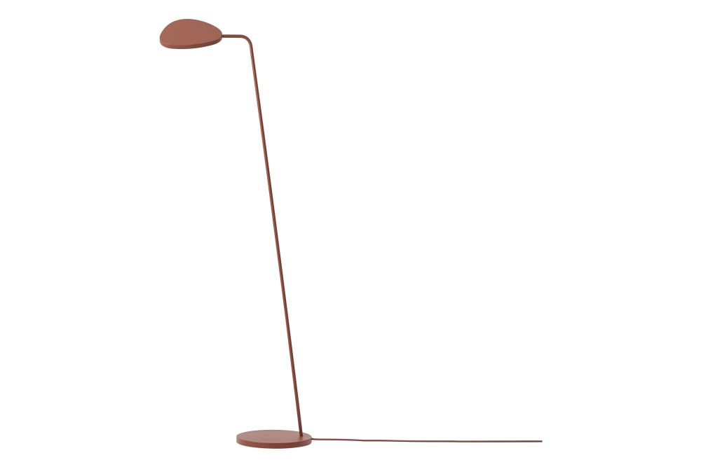 Metal Black,Muuto,Floor Lamps