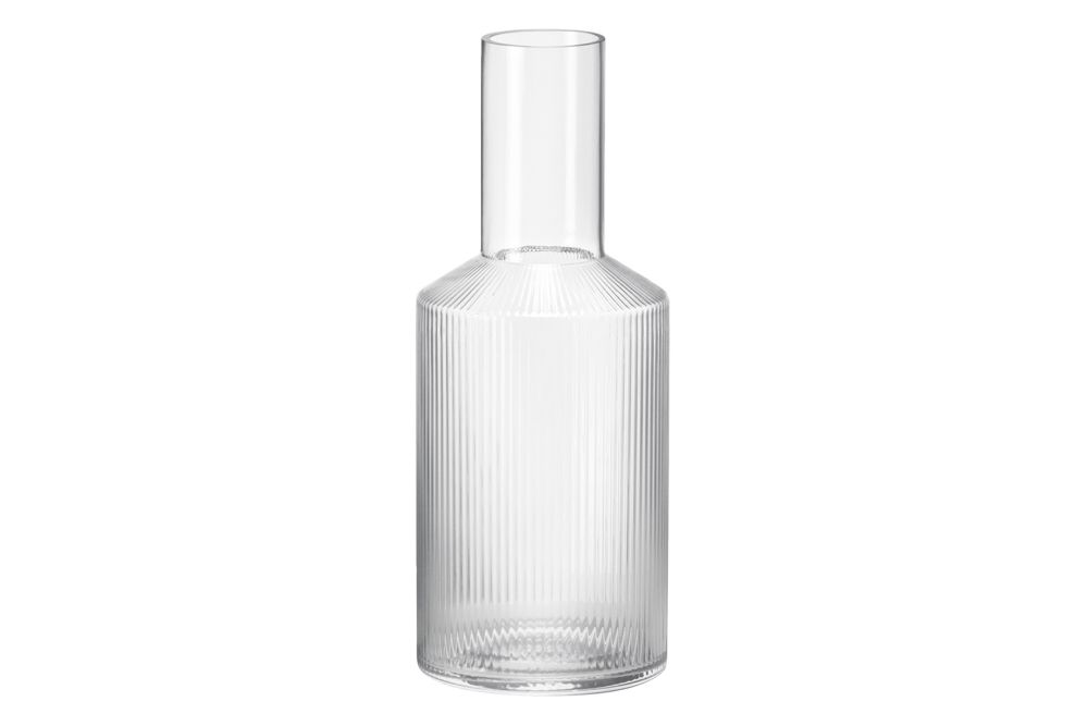 Glass Clear,ferm LIVING,Glassware,cylinder,glass bottle