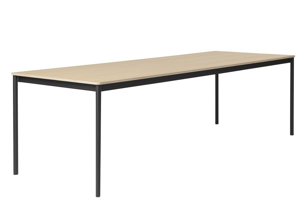 Black Nanolaminate / Plywood / Black,Muuto,Dining Tables