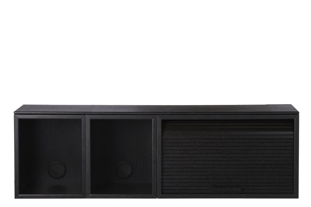 Black Painted Oak, 100,Northern,Cabinets & Sideboards