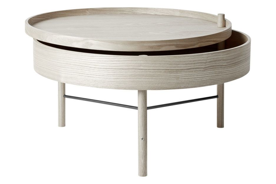 White Oak/Black Chrome,MENU,Coffee & Side Tables,coffee table,furniture,table
