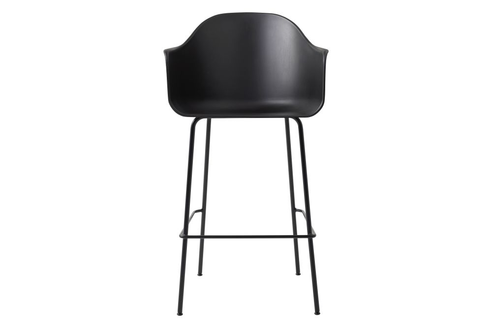 Plastic Black / Metal Black,MENU,Stools,bar stool,chair,furniture