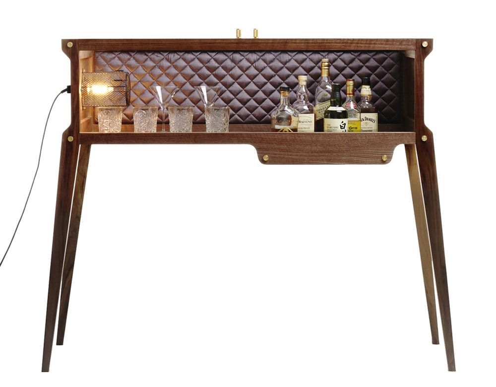 The Rockstar Bar UK Plug,Buster + Punch,Bar Carts