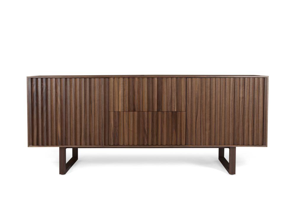 Clair Sideboard Walnut,WARM,Cabinets & Sideboards