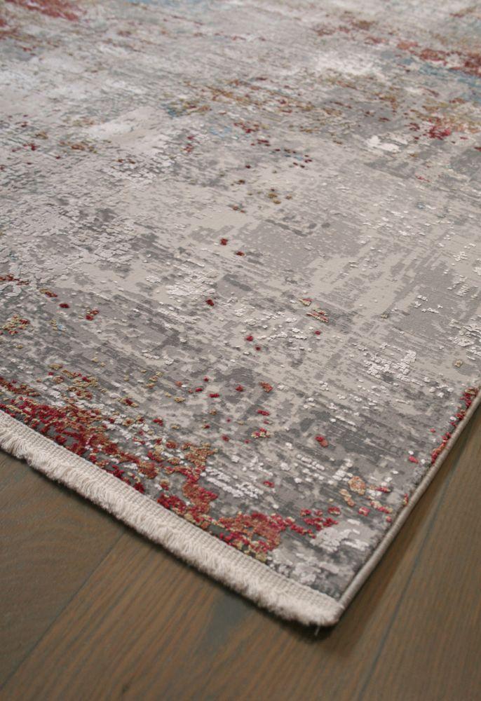 abstract rug corner flat
