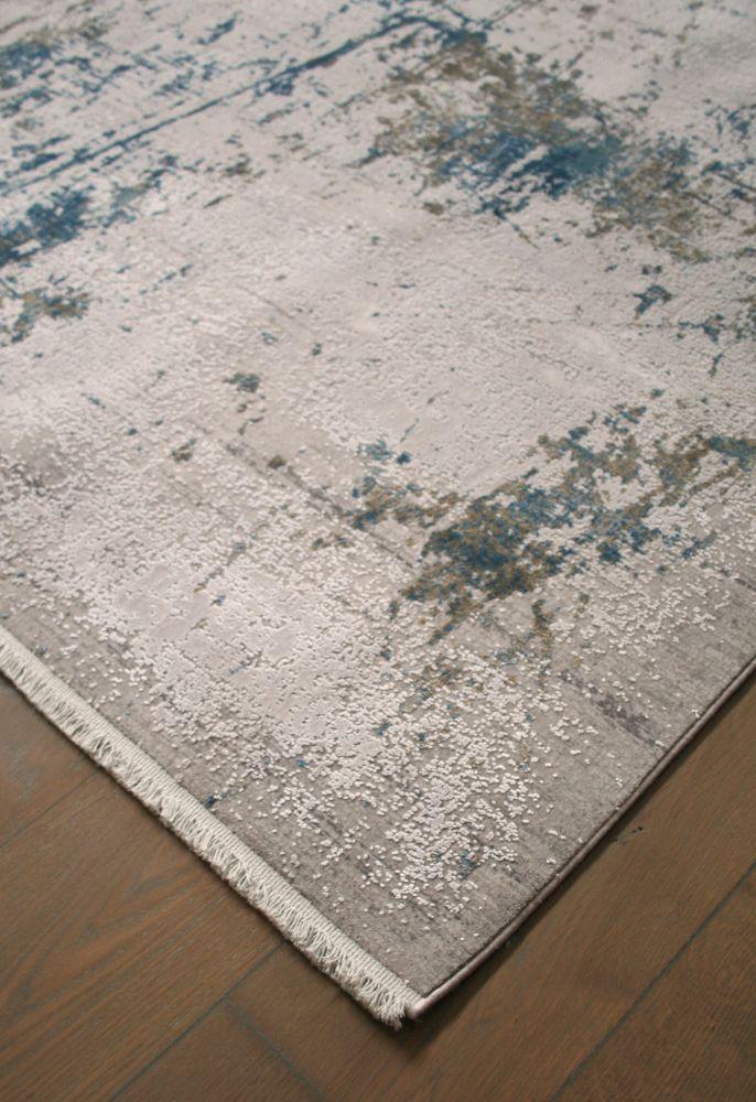 abstract rug corner