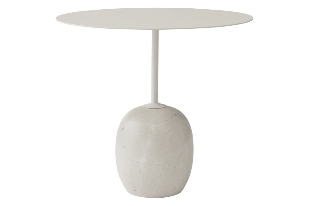 Ivory white & Crema Diva marble,&Tradition,Coffee & Side Tables
