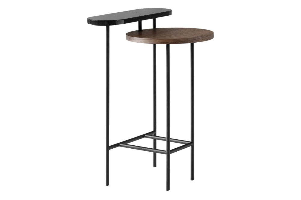 Black lacquered ash & Nero Marquina marble,&Tradition,Coffee & Side Tables
