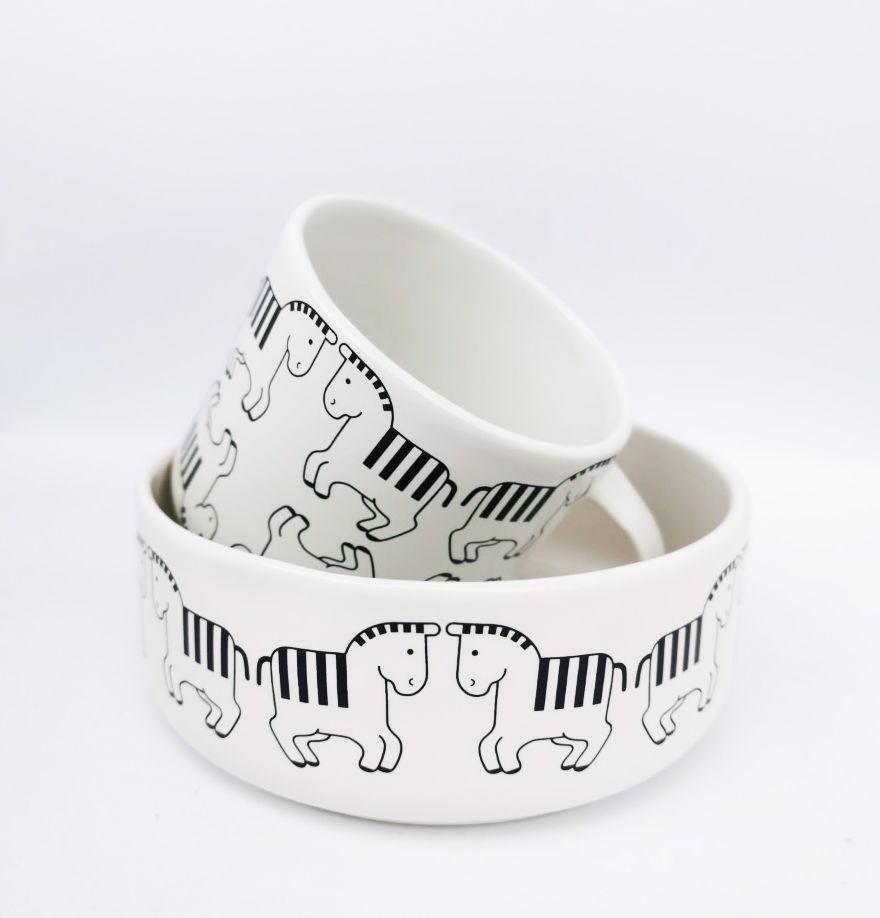 black/white,Camilla Engdahl,Teapots & Cups