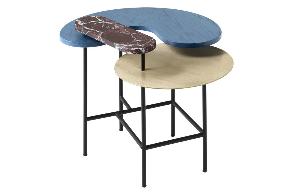 Brass, Nero Marquina, lacquered walnut,&Tradition,Coffee & Side Tables