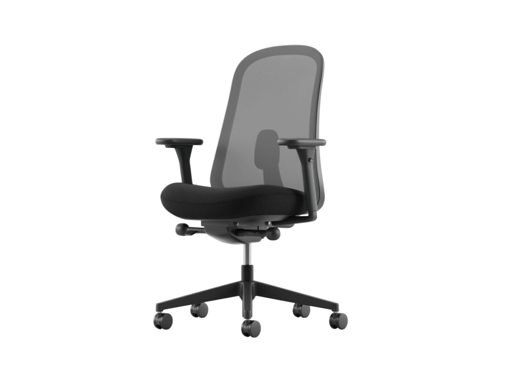 Field 2 1FD seat and Graphite back,Herman Miller,Task Chairs