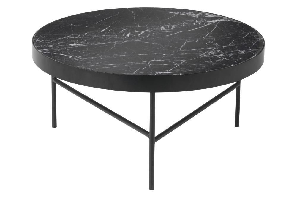 Black Marquina,ferm LIVING,Coffee & Side Tables